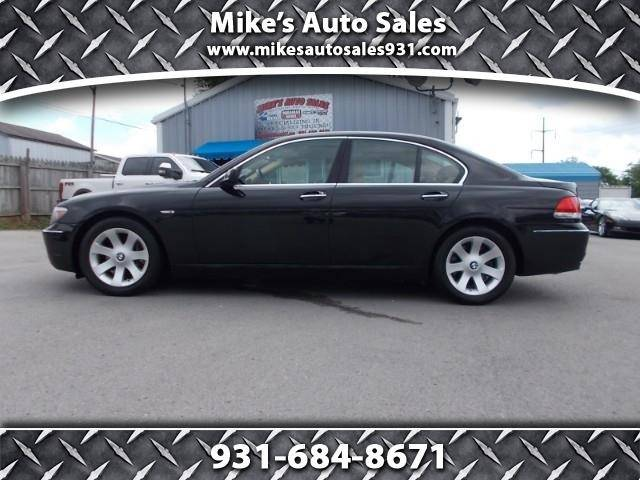2007 Bmw 7 Series 750i 4dr Sedan In Shelbyville Tn Mikes Auto Sales