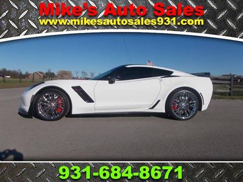 2016 Chevrolet Corvette for sale at Mike's Auto Sales in Shelbyville TN