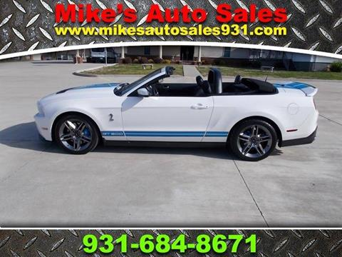 2012 Ford Shelby GT500 for sale at Mike's Auto Sales in Shelbyville TN
