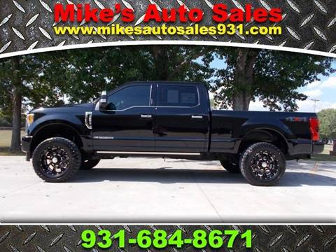 2018 Ford F-250 Super Duty for sale at Mike's Auto Sales in Shelbyville TN