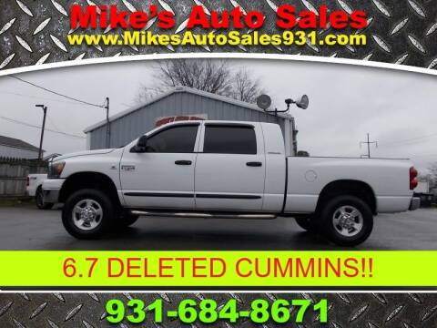 2007 Dodge Ram Pickup 2500 SLT for sale at Mike's Auto Sales in Shelbyville TN