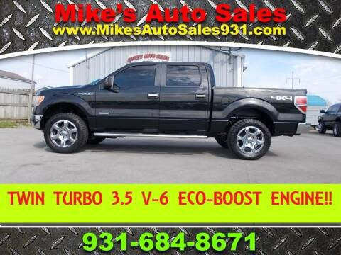 2013 Ford F-150 XLT for sale at Mike's Auto Sales in Shelbyville TN