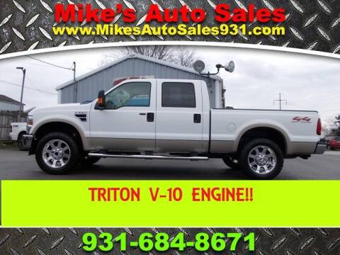 2008 Ford F-250 Super Duty Lariat for sale at Mike's Auto Sales in Shelbyville TN