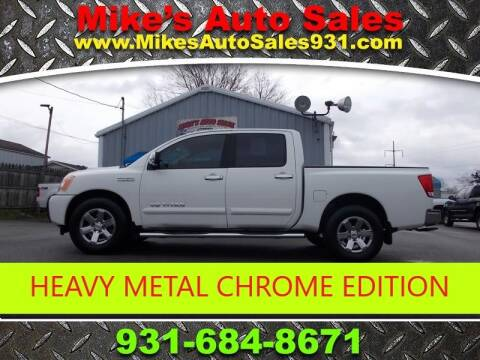 2013 Nissan Titan SV for sale at Mike's Auto Sales in Shelbyville TN