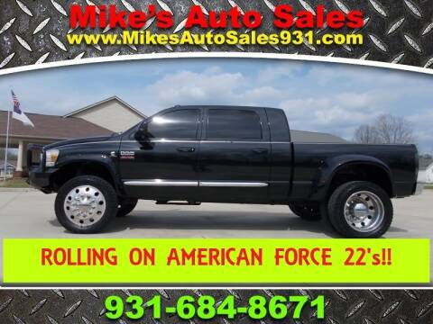 2008 Dodge Ram Pickup 3500 Laramie for sale at Mike's Auto Sales in Shelbyville TN
