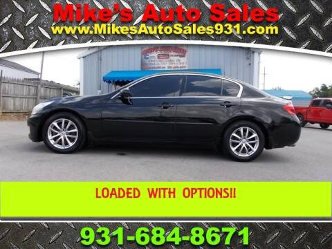 2008 Infiniti G35 for sale at Mike's Auto Sales in Shelbyville TN