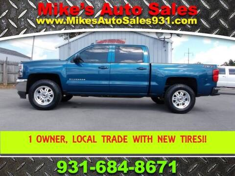 2018 Chevrolet Silverado 1500 for sale at Mike's Auto Sales in Shelbyville TN
