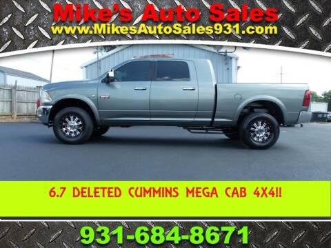 2012 RAM Ram Pickup 3500 for sale at Mike's Auto Sales in Shelbyville TN