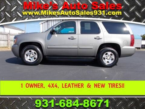 2008 Chevrolet Tahoe for sale at Mike's Auto Sales in Shelbyville TN