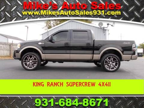 2006 Ford F-150 for sale at Mike's Auto Sales in Shelbyville TN