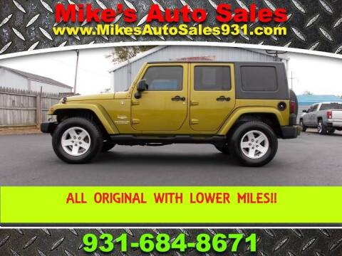 2007 Jeep Wrangler Unlimited for sale at Mike's Auto Sales in Shelbyville TN