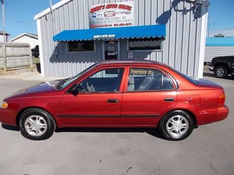 2001 Chevrolet Prizm for sale in Shelbyville, TN