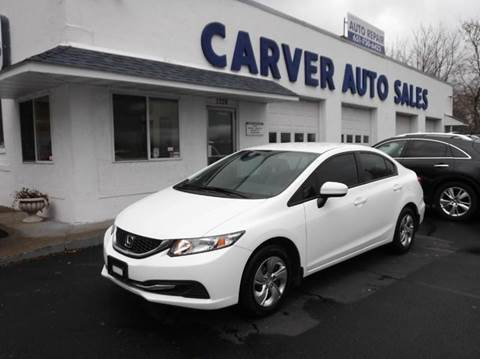 2015 Honda Civic for sale at Carver Auto Sales in Saint Paul MN