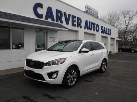 2016 Kia Sorento for sale at Carver Auto Sales in Saint Paul MN