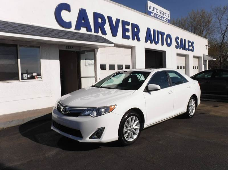 2013 Toyota Camry for sale at Carver Auto Sales in Saint Paul MN