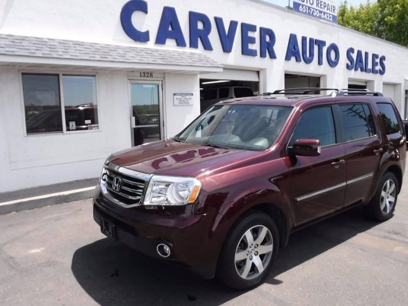 2014 Honda Pilot for sale at Carver Auto Sales in Saint Paul MN