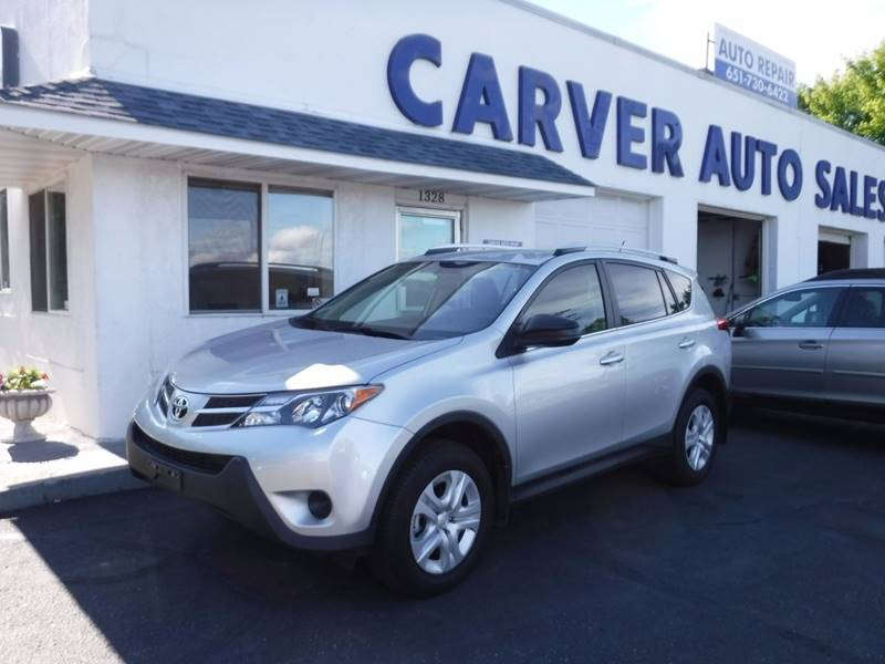 2015 Toyota RAV4 for sale at Carver Auto Sales in Saint Paul MN