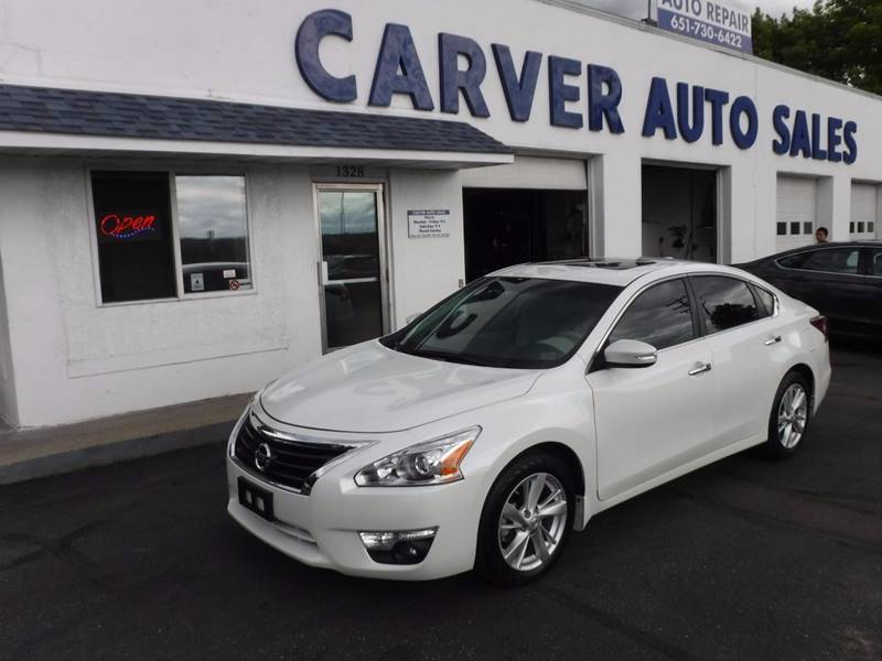 2015 Nissan Altima for sale at Carver Auto Sales in Saint Paul MN