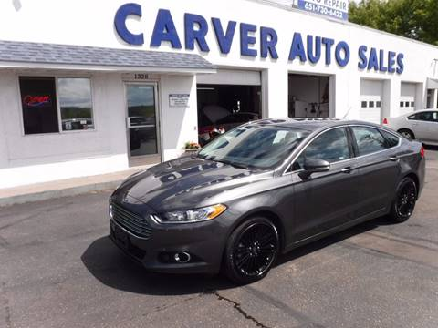 2016 Ford Fusion for sale at Carver Auto Sales in Saint Paul MN