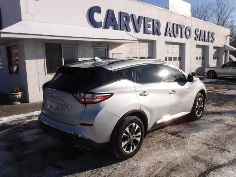 2017 nissan murano sv 4dr suv in saint paul mn carver. Black Bedroom Furniture Sets. Home Design Ideas
