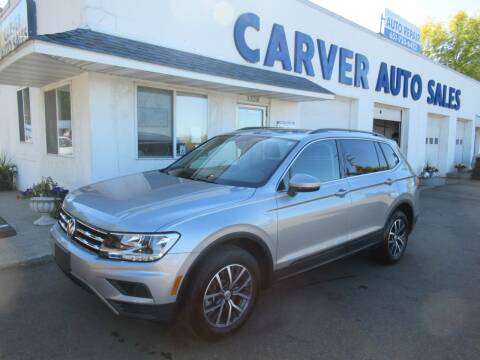 2019 Volkswagen Tiguan for sale at Carver Auto Sales in Saint Paul MN
