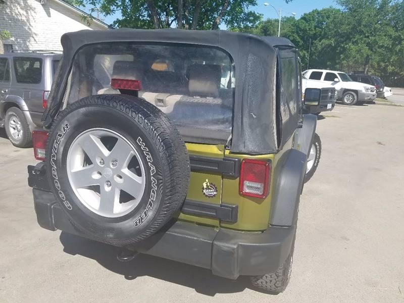 2007 Jeep Wrangler 4x4 X 2dr SUV - Dallas TX