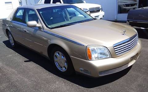 2005 Cadillac DeVille for sale at DFW AUTO FINANCING LLC in Dallas TX