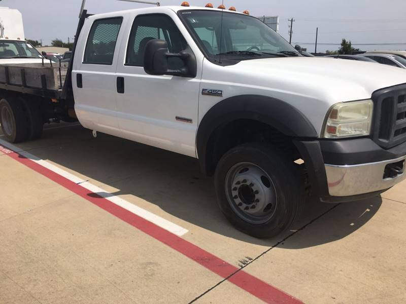 2006 Ford F-450 Super Duty XL DUALLY FLAT BED - Dallas TX
