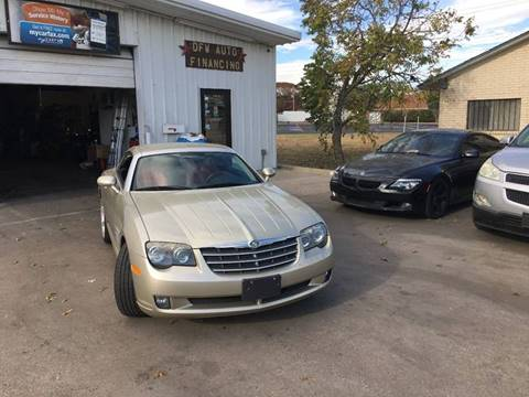 2008 Chrysler Crossfire for sale at DFW AUTO FINANCING LLC in Dallas TX