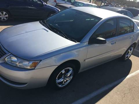 2006 Saturn Ion for sale at DFW AUTO FINANCING LLC in Dallas TX