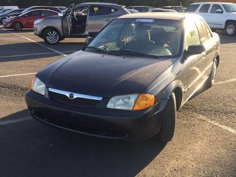 1999 Mazda Protege for sale at DFW AUTO FINANCING LLC in Dallas TX