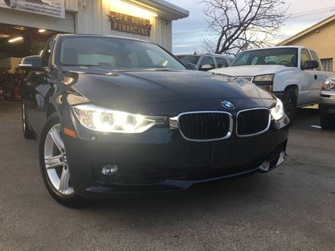 2015 BMW 3 Series for sale at DFW AUTO FINANCING LLC in Dallas TX