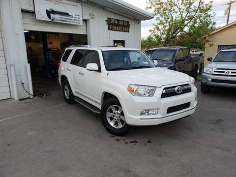 2013 Toyota 4Runner for sale at DFW AUTO FINANCING LLC in Dallas TX