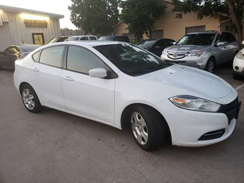 2015 Dodge Dart for sale at DFW AUTO FINANCING LLC in Dallas TX