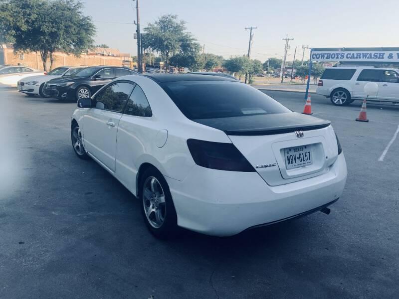 2007 Honda Civic LX 2dr Coupe (1.8L I4 5A) - Dallas TX