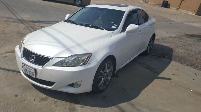 2008 Lexus IS 250 for sale at DFW AUTO FINANCING LLC in Dallas TX