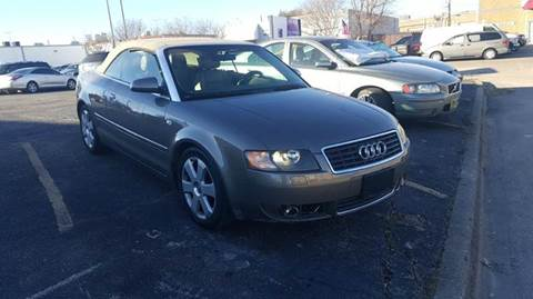 2006 Audi A4 for sale at DFW AUTO FINANCING LLC in Dallas TX