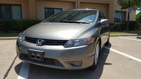 2008 Honda Civic for sale at DFW AUTO FINANCING LLC in Dallas TX
