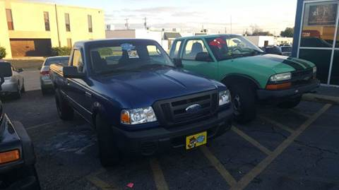 2008 Ford Ranger for sale at DFW AUTO FINANCING LLC in Dallas TX