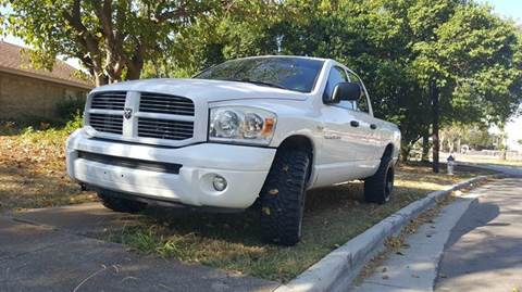 2007 Dodge Ram Pickup 1500 for sale at DFW AUTO FINANCING LLC in Dallas TX
