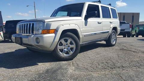 2007 Jeep Commander for sale at DFW AUTO FINANCING LLC in Dallas TX