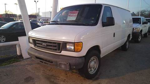 2005 Ford E-Series Cargo for sale at DFW AUTO FINANCING LLC in Dallas TX
