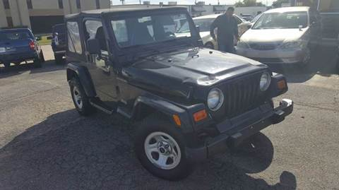 2000 Jeep Wrangler for sale at DFW AUTO FINANCING LLC in Dallas TX