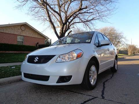 2012 Suzuki SX4 for sale at DFW AUTO FINANCING LLC in Dallas TX