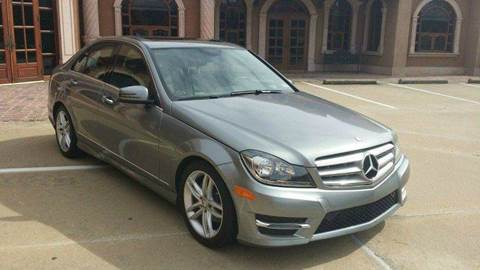 2013 Mercedes-Benz C-Class for sale at DFW AUTO FINANCING LLC in Dallas TX