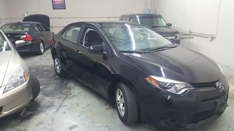 2015 Toyota Corolla for sale at DFW AUTO FINANCING LLC in Dallas TX