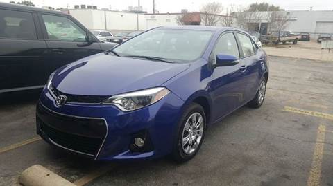 2016 Toyota Corolla for sale at DFW AUTO FINANCING LLC in Dallas TX