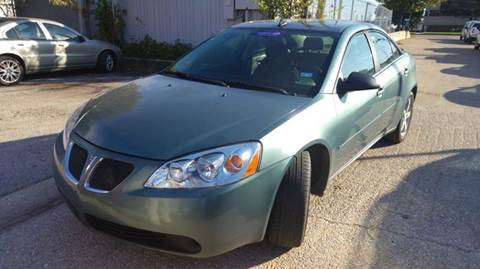 2009 Pontiac G6 for sale at DFW AUTO FINANCING LLC in Dallas TX