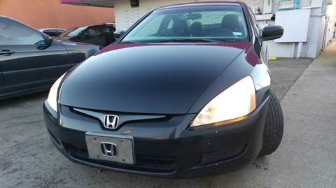 2003 Honda Accord for sale at DFW AUTO FINANCING LLC in Dallas TX