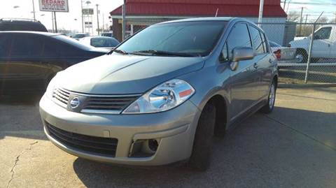 2012 Nissan Versa for sale at DFW AUTO FINANCING LLC in Dallas TX